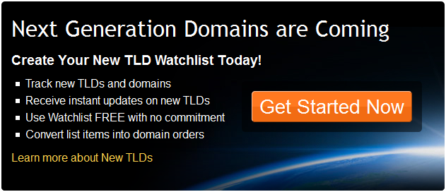 Next Generation Domains are Coming