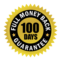100 Days Full Money Back Guarantee
