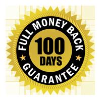100 Days Full Money Back Guarantee